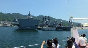 【バスの日】人気の呉湾艦船めぐりクルーズ イメージ