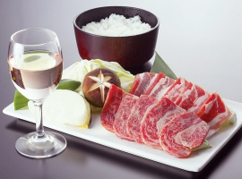 【広島県】三次 バーベキューの昼食とぶどう狩り イメージ