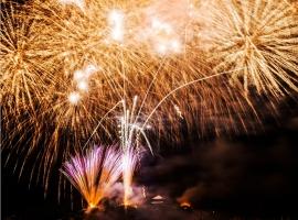 【広島県】鞆の浦弁天島花火大会 イメージ