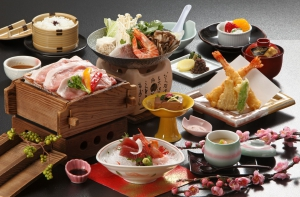 19-023(三朝温泉の昼食)